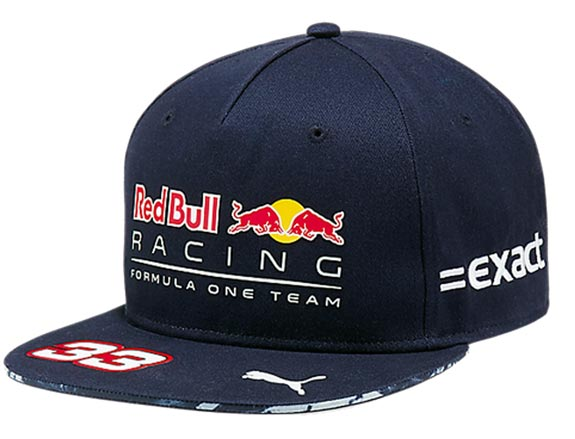 2017 CASQUETTE PILOTE RED BULL RACING F1 TEAM #33 MAX VERSTAPPEN