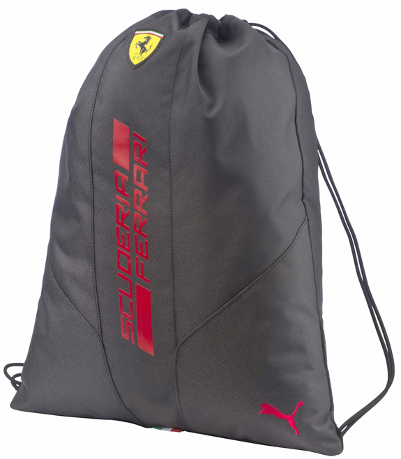 2016 PUMA SCUDERIA FERRARI GYM BAG - BLACK