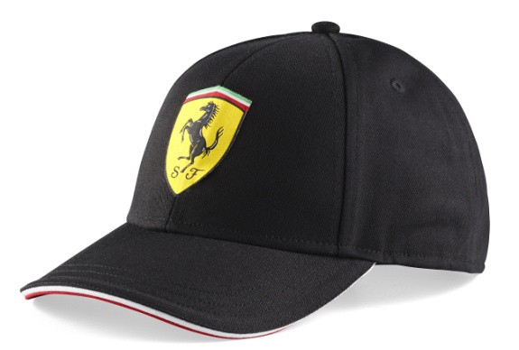 BRANDON 2014 FERRARI SCUDETTO CLASSIC CAP FOR JUNIORS- BLACK