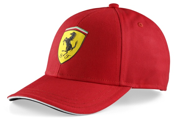 BRANDON 2014 FERRARI SCUDETTO CLASSIC CAP FOR JUNIORS- RED