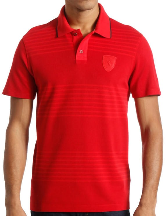 2014 PUMA SCUDERIA FERRARI LIFESTYLE POLO - RED