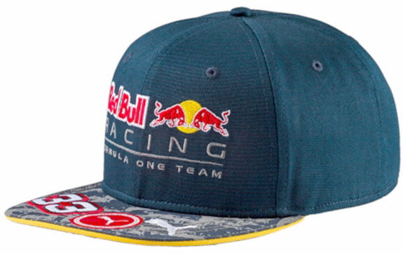 2016 PUMA RED BULL RACING F1 TEAM DRIVER CAP #33 MAX VERSTAPPEN
