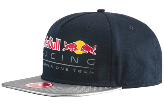 2017 PUMA RED BULL RACING F1 TEAM FLAT BRIMM CAP - ECLIPSE BLUE