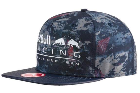 2017 PUMA RED BULL RACING F1 TEAM FLAT BRIMM CAP - ECLIPSE RBR