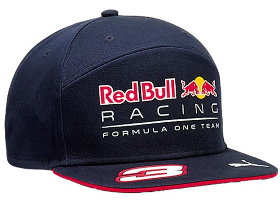 2017 PUMA RED BULL RACING F1 TEAM #3 CAP DANIEL RICCIARDO