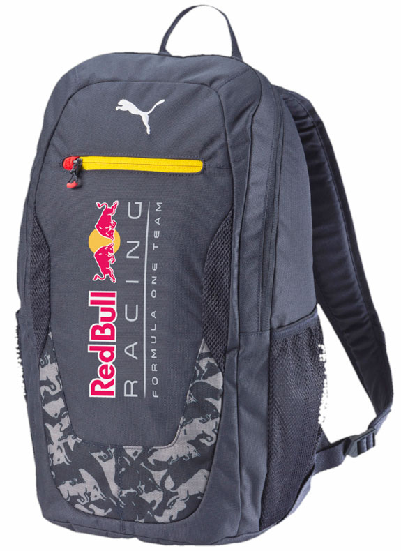 2016 PUMA RED BULL RACING F1 TEAM BACKPACK - TOTAL ECLIPSE BLUE