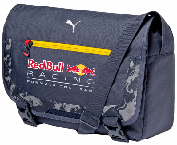 2016 PUMA RED BULL RACING F1 TEAM MESSENGER BAG - ECLIPSE BLUE