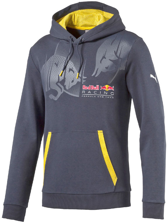 2016 PUMA RED BULL RACING F1 TEAM MENS GRAPHIC HOODIE - BLUE