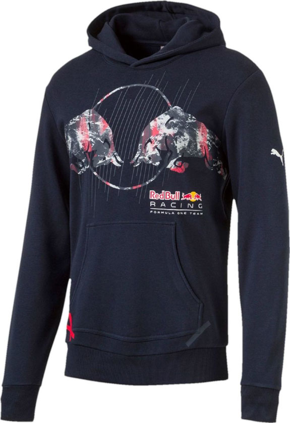 2017 PUMA RED BULL RACING F1 TEAM MENS GRAPHIC HOODIE