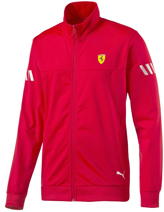 2016 PUMA SCUDERIA FERRARI FULL ZIP TRACK JACKET - RED