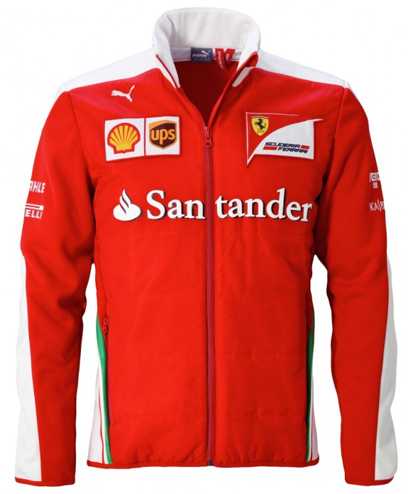 2016 PUMA SCUDERIA FERRARI TEAM SOFTSHELL JACKET