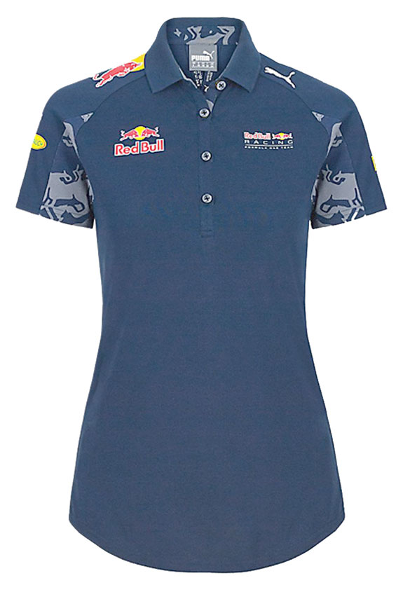 2016 PUMA RED BULL RACING F1 TEAM WOMEN TEAM 4 BUTTON POLO