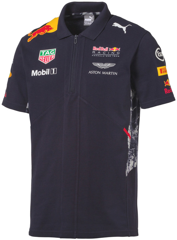 POLO EQUIPE 2017 PUMA RED BULL RACING F1 TEAM - HOMME