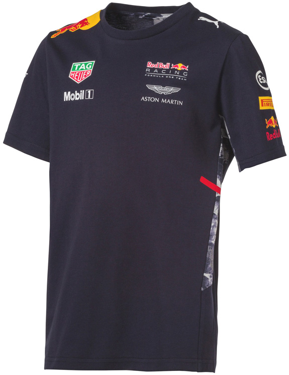 2017 PUMA RED BULL RACING TAG HEUER F1 TEAM T-SHIRT ENFANTS