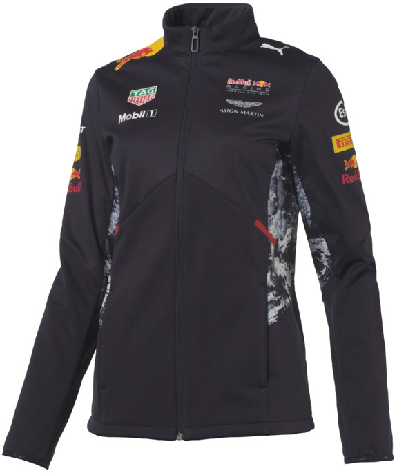 2017 PUMA RED BULL RACING F1 TEAM WOMEN SOFTSHELL JACKET