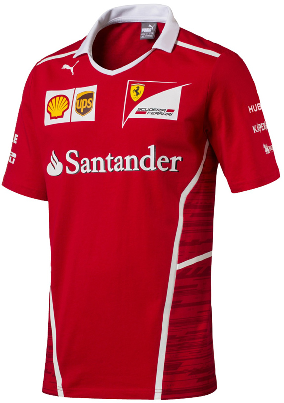 PUMA SCUDERIA FERRARI 2017 TEAM T-SHIRT - ADULT