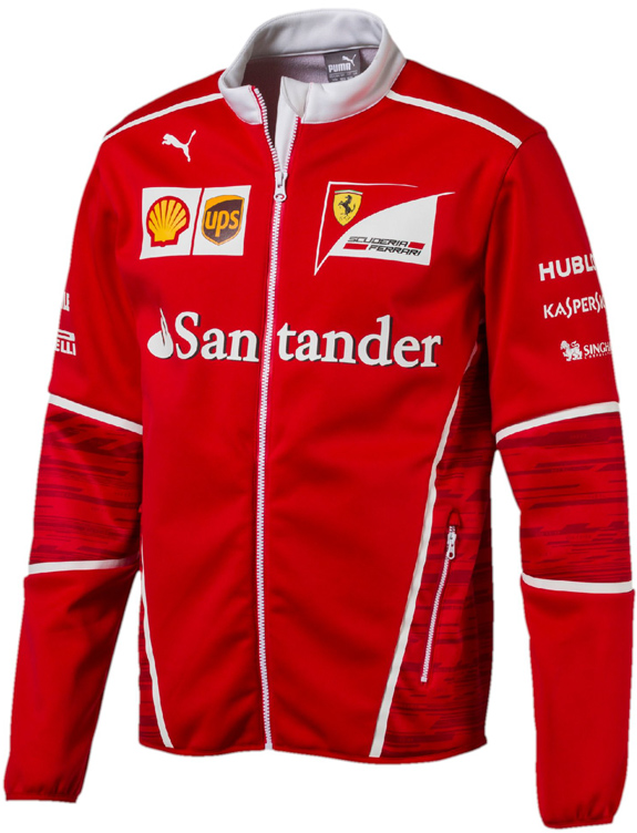 PUMA SCUDERIA FERRARI 2017 TEAM SOFTSHELL JACKET