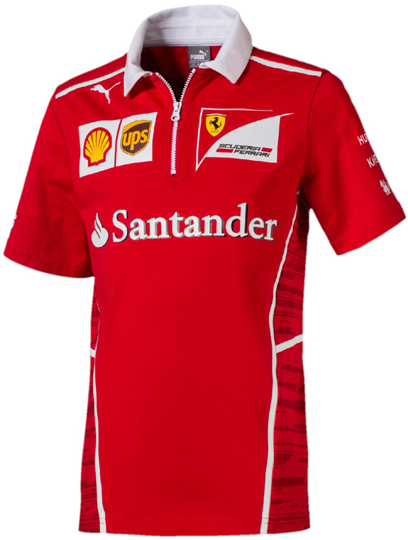 PUMA SCUDERIA FERRARI 2017 KIDS TEAM POLO