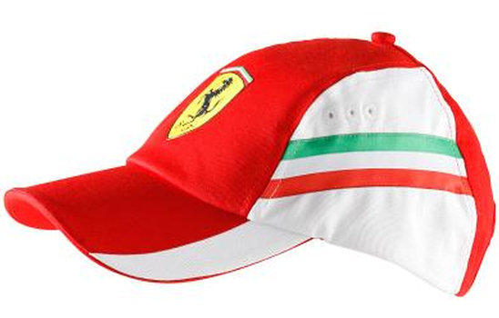 PUMA FERRARI GRAPHIC CAP - RED