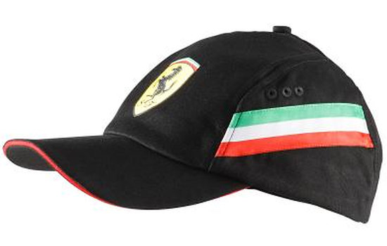 PUMA FERRARI GRAPHIC CAP - BLACK