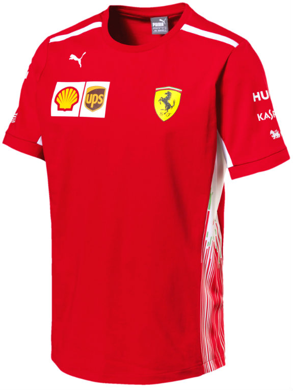 PUMA SCUDERIA FERRARI 2018 TEAM T-SHIRT - ADULT