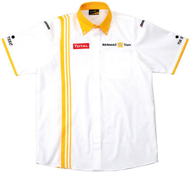 2010 RENAULT F1 TEAM SHORT SLEEVE SHIRT