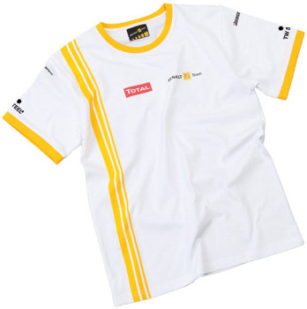 2010 RENAULT F1 TEAM REPLICA T-SHIRT