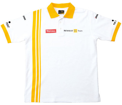 2010 RENAULT F1 TEAM REPLICA POLO