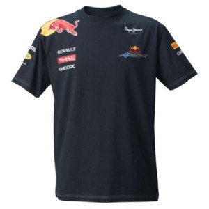 2011 RED BULL RACING F1 TEAM T-SHIRT ENFANTS