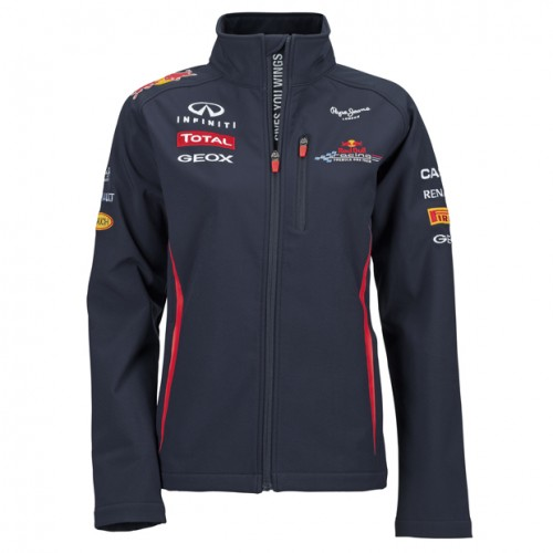 2012 RED BULL RACING F1 TEAM SOFTSHELL WOMEN JACKET
