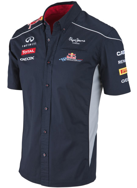 2013 INFINITI RED BULL RACING F1 TEAM SHIRT MEN