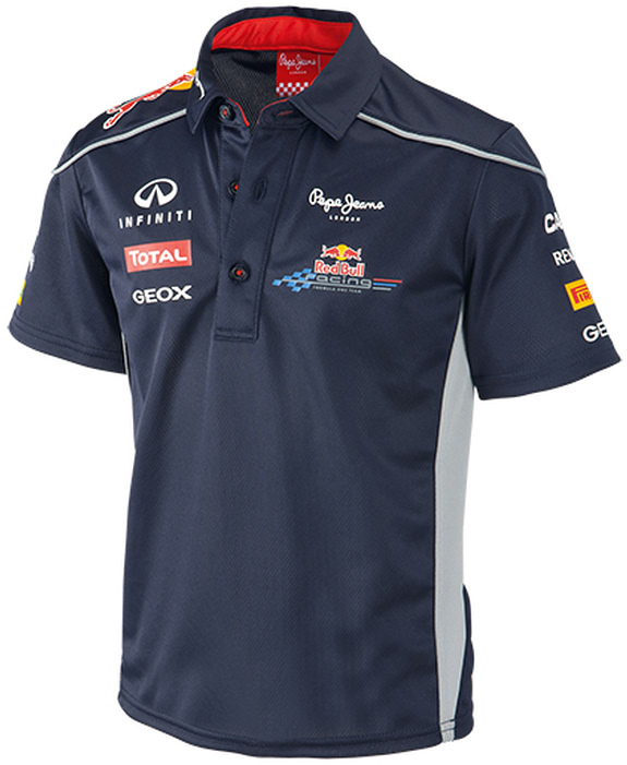 2013 INFINITI RED BULL RACING F1 TEAM KIDS FUNCTIONAL POLO