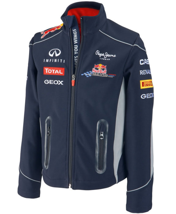 2013 INFINITI RED BULL RACING F1 TEAM KIDS SOFTSHELL JACKET