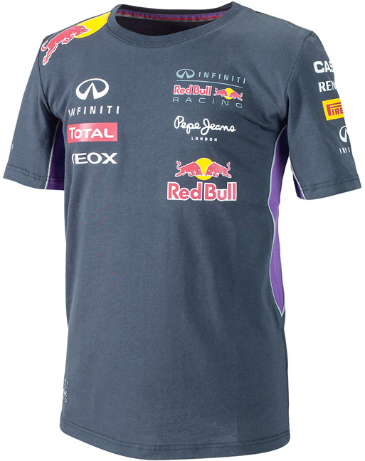 2014 INFINITI RED BULL RACING F1 TEAM T-SHIRT ENFANTS