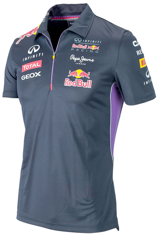 2014 INFINITI RED BULL RACING F1 TEAM POLO ZIPPÉ ENFANTS