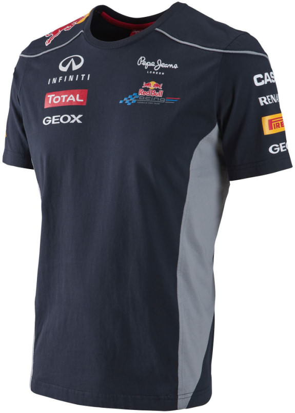 2013 INFINITI RED BULL RACING F1 TEAM T-SHIRT - HOMME