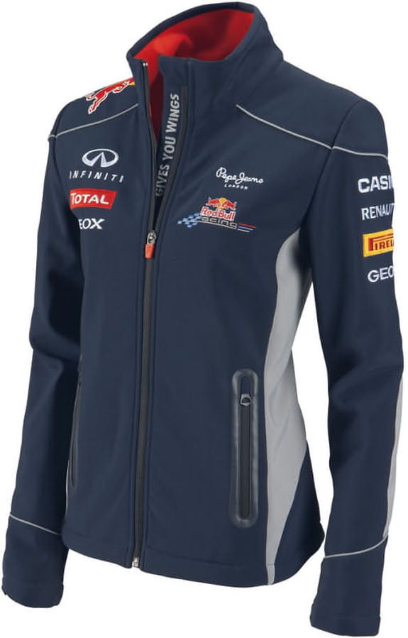 2013 INFINITI RED BULL RACING F1 TEAM SOFTSHELL WOMEN JACKET