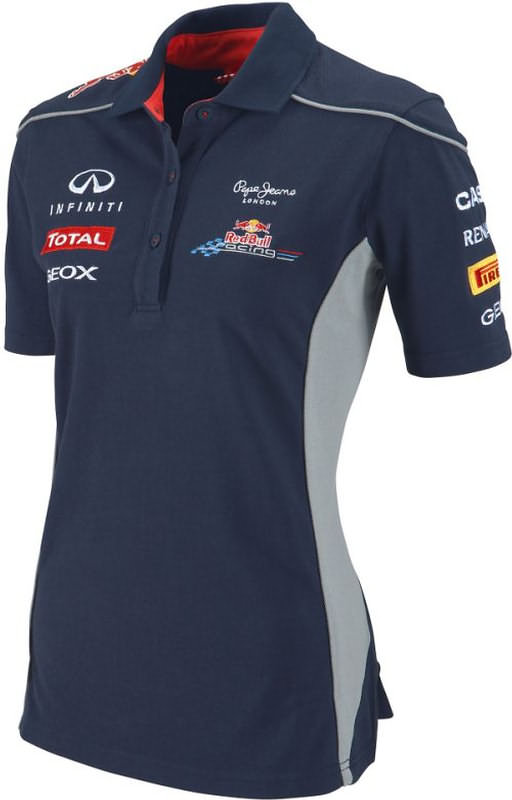 2013 INFINITI RED BULL RACING F1 TEAM POLO - WOMEN