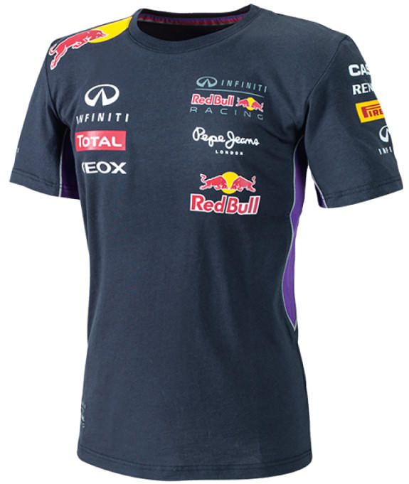 PEPE JEANS T-SHIRT 2014 INFINITI RED BULL RACING F1 TEAM - HOMME