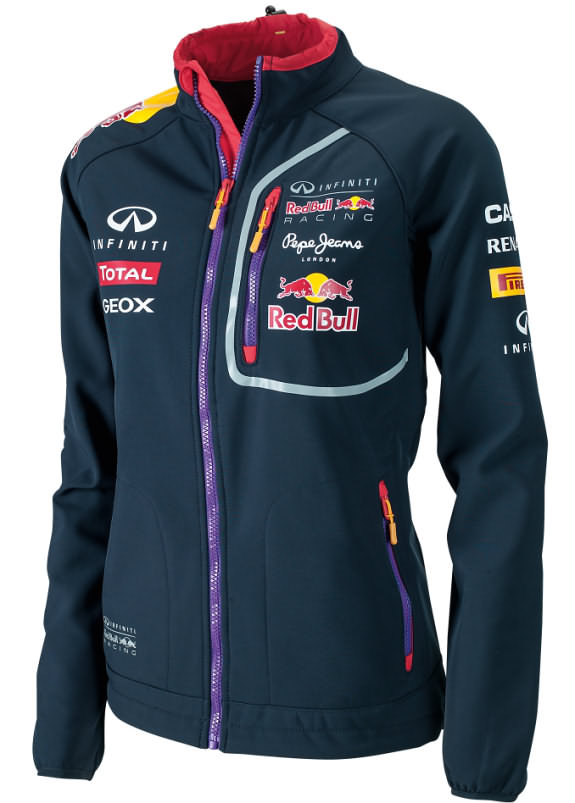 2014 INFINITI RED BULL RACING F1 TEAM SOFTSHELL WOMEN JACKET