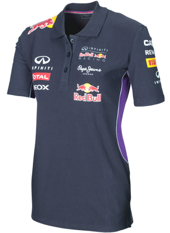 PEPE JEANS 2014 INFINITI RED BULL RACING F1 TEAM POLO FEMME