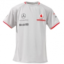 VODAFONE MCLAREN MERCEDES 2010 KIDS TEAM T-SHIRT – SILVER