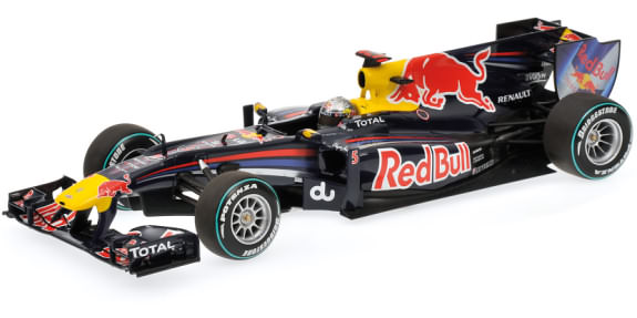 MINICHAMPS 1/18 2010 RED BULL RACING RB6 ABU DHABI - S. VETTEL