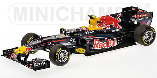 2011 RED BULL RACING SHOWCAR - MARK WEBBER