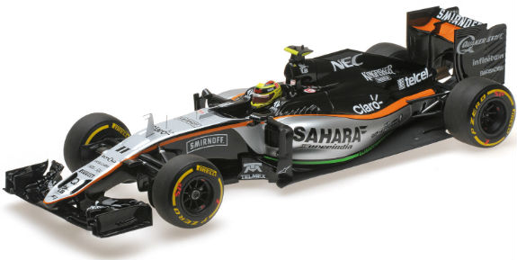 MINICHAMPS 1/18 2016 SAHARA FORCE INDIA F1 VJM09 - SERGIO PEREZ