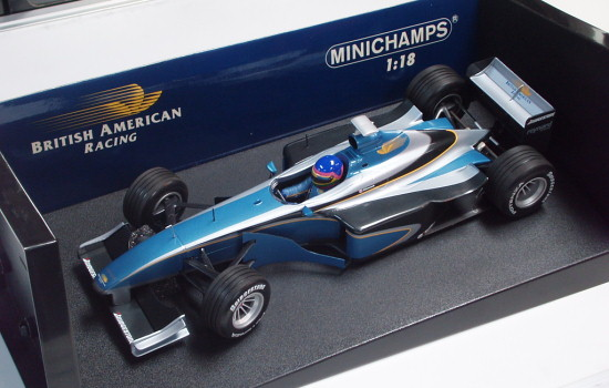 MINICHAMPS 1/18 1999 BAR SUPERTEC 01 – JACQUES VILLENEUVE