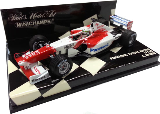 MINICHAMPS 2002 1/43 PANASONIC TOYOTA TF102 - ALAN MCNISH