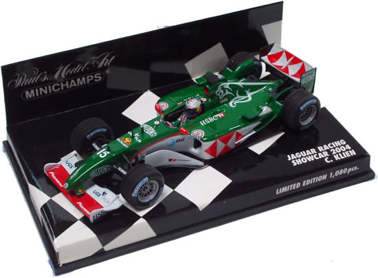 MINICHAMPS 1/43 JAGUAR RACING 2004 SHOWCAR – C. KLIEN