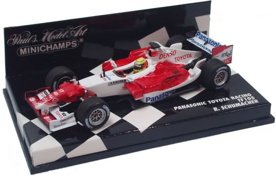 2005 TOYOTA RACING TF105 – R. SCHUMACHER