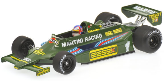 MINICHAMPS 1/43 1979 LOTUS 79 1ST F1 TEST - NIGEL MANSELL